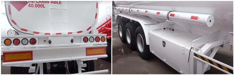 Remolque cisterna de combustible de 40.000L en Mozambique