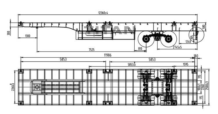 ¿Qué es un remolque de plataforma? -Remolque de plataforma plana usado a la venta cerca de mí