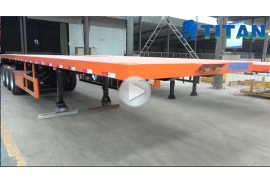 3 as roda trailer kontainer flatbed