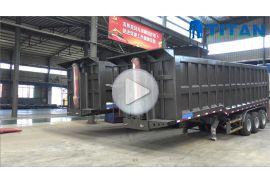 3 gandar tipper semi trailer