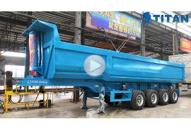 Multi jenis trailer tipper