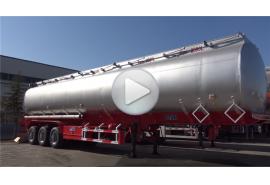 Trailer tanker bahan bakar 45000l