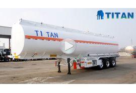 Trailer tanker penyimpanan 3 gandar