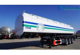 Multi jenis trailer tanker bahan bakar