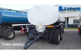 Trailer Tanker Bahan Bakar Drawbar