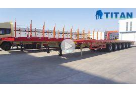 6 gandar 62m trailer bilah angin diperpanjang