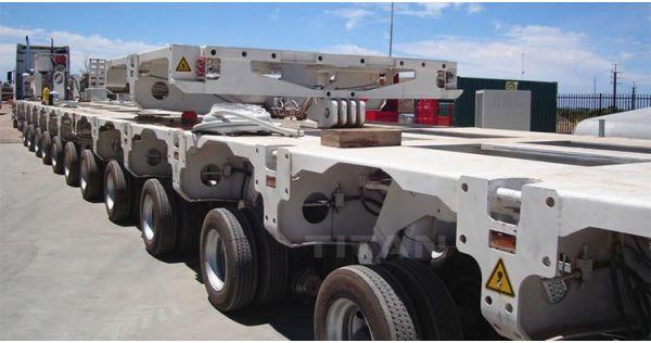 Venta de remolque transportador modular autopropulsado - TITAN Vehicle