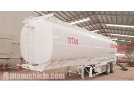 Se enviará un remolque cisterna de combustible de 2 ejes de 40000 litros a Zimbabwe Harare