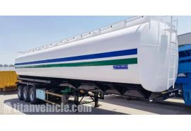 5 unidades Tri Axle 45000 Litros Oil Tanker Truck Trailer se enviarán a Nigeria Lagos