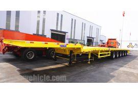 El remolque extensible de 6 ejes y 62 metros para Blade se enviará a Hai Phong Vietnam