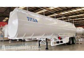 El remolque cisterna de petróleo de 2 ejes con suspensión de bogie se enviará a Burundi Gitega