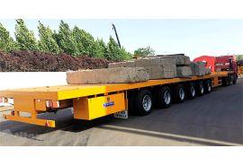 Trailer 6 Axle 62 Meter akan Dikirim ke Vietnam