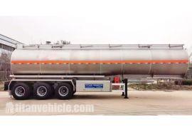 Trailer Tanker Aluminium 42000 Liter akan dikirim ke Burkina Faso