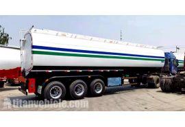 Trailer Tanker Bensin 45000 Liter akan dikirim ke Nigeria Lagos