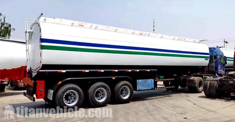 Trailer Tanker Bensin 45000 Liter Dijual Di Nigeria Lagos