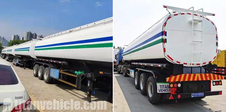 Detail Trailer Tanker Bensin 45CBM untuk Harga Jual