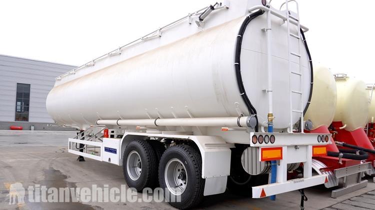 2 Gandar 45CBM Trailer Truk Tanker Minyak untuk Dijual