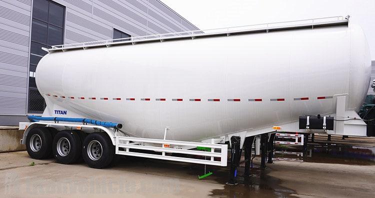 Trailer Tanker Serbuk 50ton Dijual di Zambia