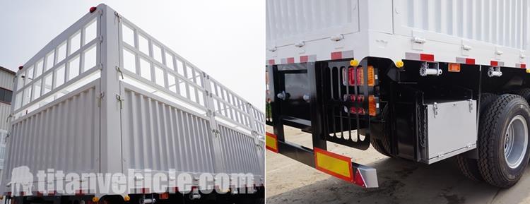 Tri Axle 60 Ton Stake Semi Trailer Dijual di Kenya Nairobi