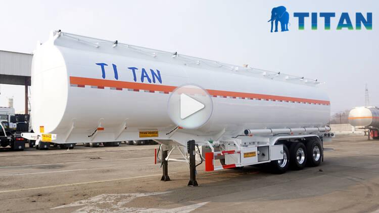 Trailer Tanker Bahan Bakar