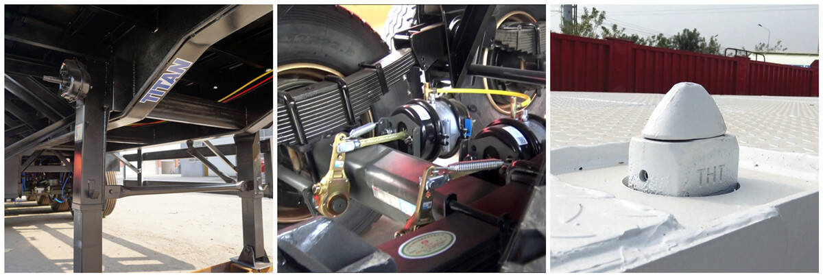 Trailer Tri Axle Dijual | 3 Axle 40ft Flatbed Trailer Spot 500USD Harga Diskon