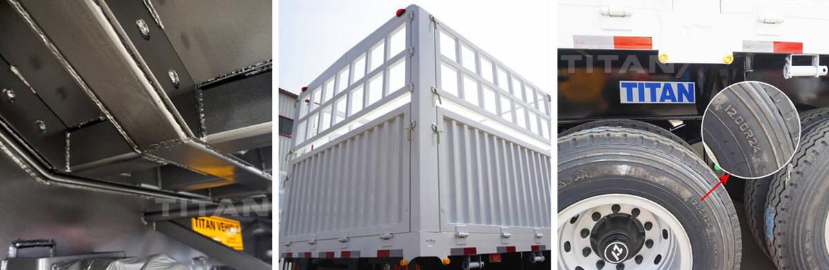 Pagar Semi Trailer Dijual   Harga Promosi Spot Semi Trailer 60T Stake Cargo