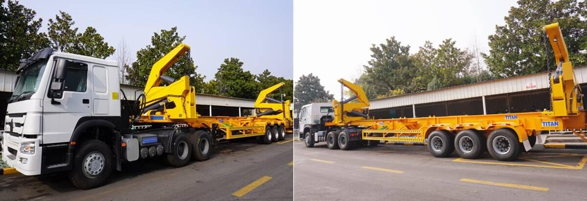 Remolque de carga lateral para contenedores en venta