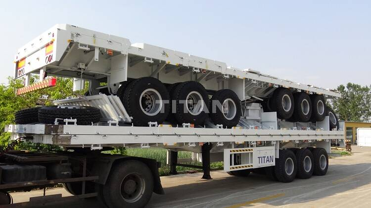 Remolque lateral abatible | Remolque de carga de pared lateral a la venta-TITAN Vehice