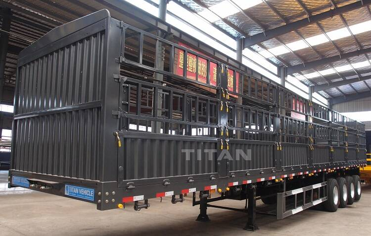 Fence Semi Trailer | Cargo Trailers For Sale-TITAN Vehicle