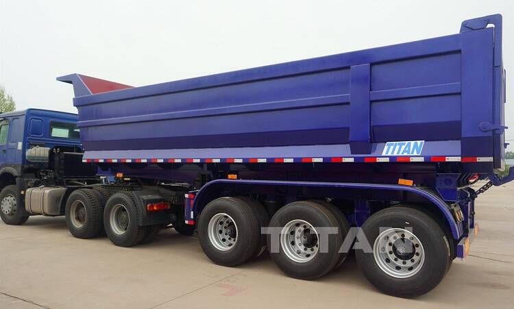 What is a Semi Tipper Trailer (tipping trailer/dumper trailer)?