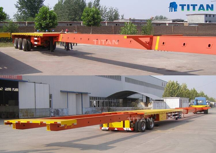Extendable Trailer | Telescopic Trailer for Sale-TITAN Vehicle
