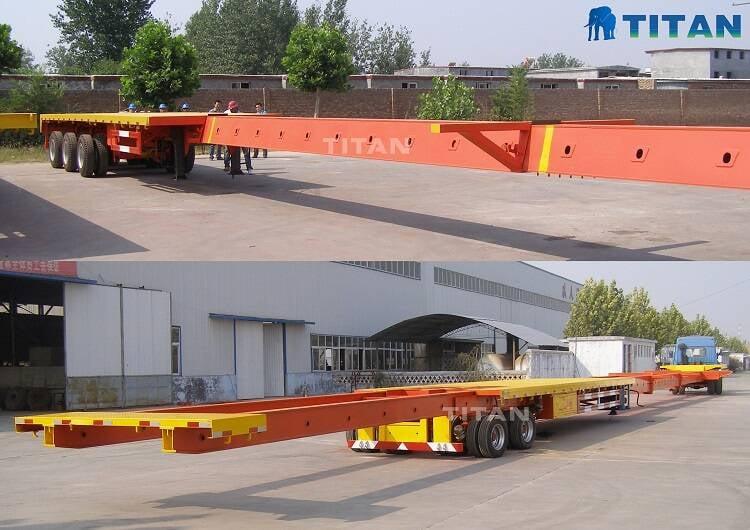 Remolque extensible | Remolque telescópico en venta-TITAN Vehicle