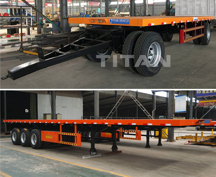 Drawbar Trailer Manufacturers | Full Trailer For Sale - TITAN VEHICLE