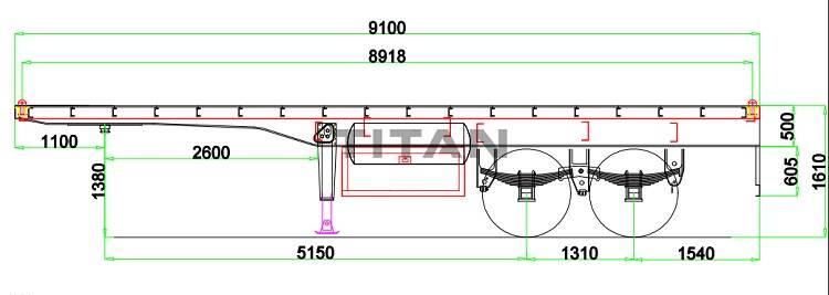 ¿Qué es un remolque de plataforma (semirremolque de plataforma / semirremolque de plataforma)?