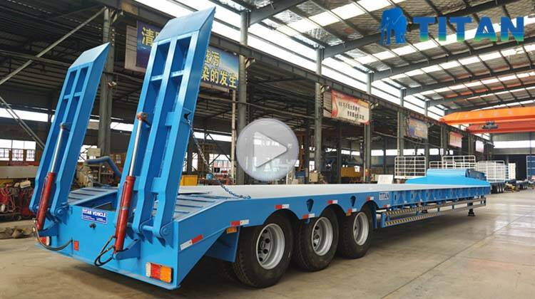 Used Semi Lowbed Trailer Price | Low Loader Trailer for Sale