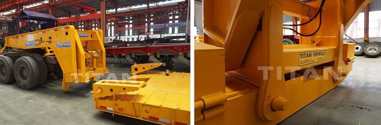 Remolques Lowboy de cuello de cisne rgn usados a la venta cerca de me-TITAN Vehicle