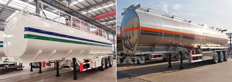 3 Axle Fuel Tanker Trailer Price for Sale
