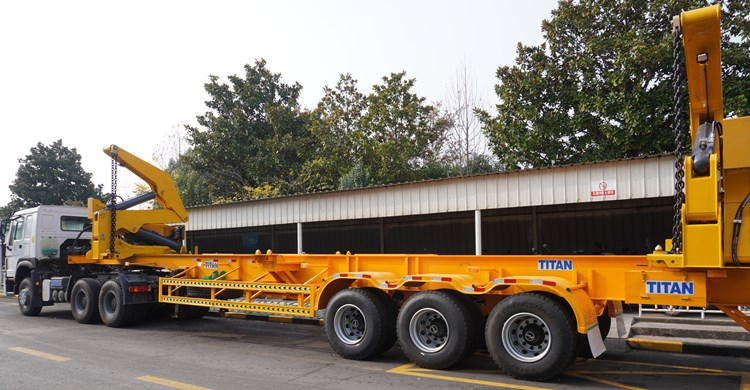 45T Container Loading Trailer for Sale