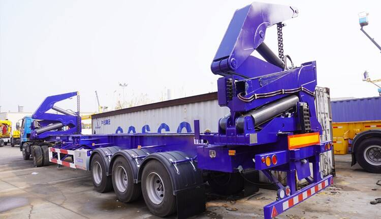 Container Side Loader Trailer for Sale