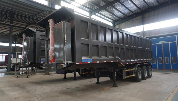trailer semi tipper untuk dijual