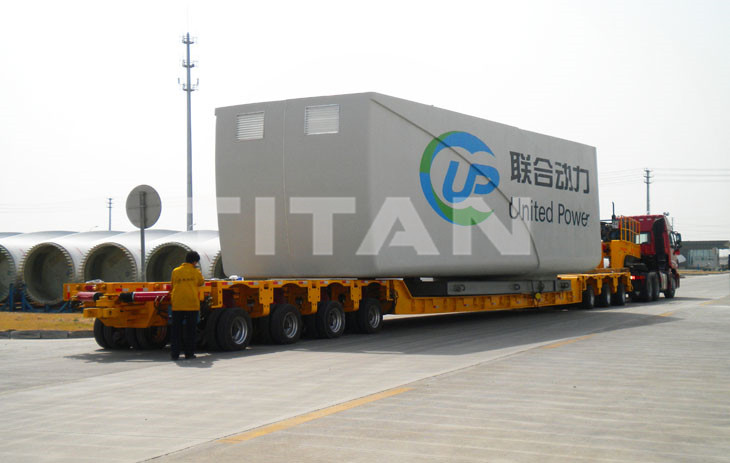 Modular Trailer - Hydraulic Multi Axle Trailer for Sale