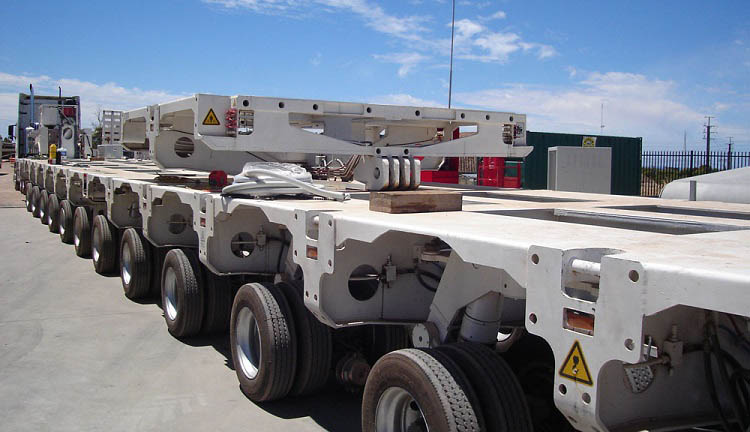 Multi Axle Trailer - Hydraulic Modular Trailer for Sale