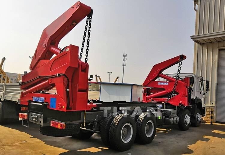 TITAN camión de carga lateral de 40 toneladas a la venta