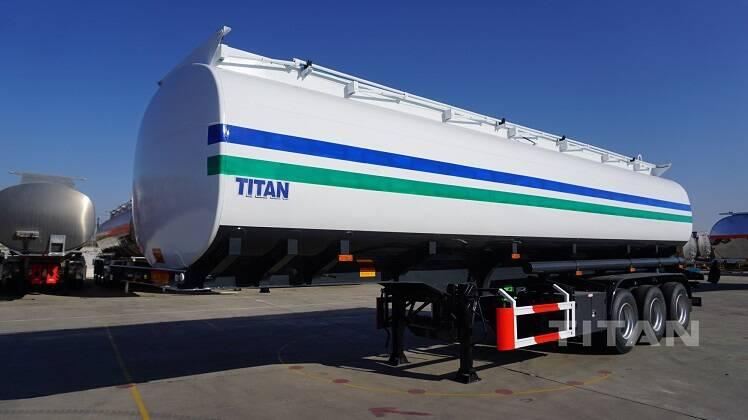 Remolque cisterna de almacenamiento de 45000 litros