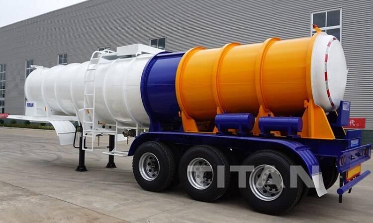 Remolque químico líquido del camión del tanque de 20cmb en venta