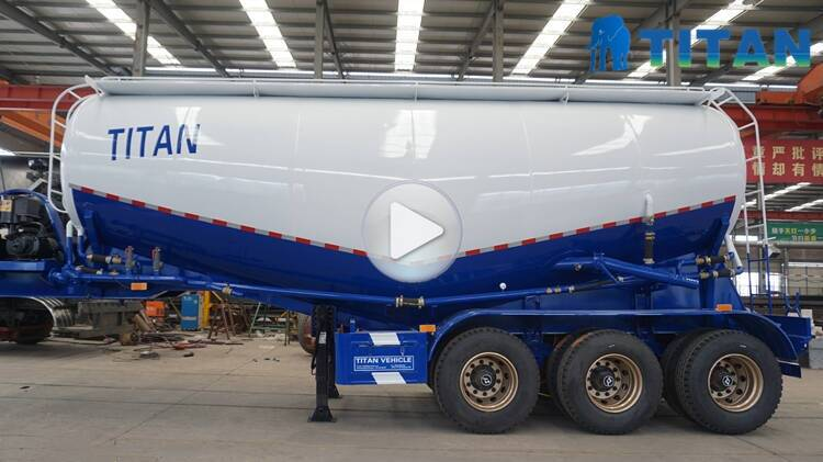 Trailer Truk Semen Massal   Tanker bubuk semen untuk dijual