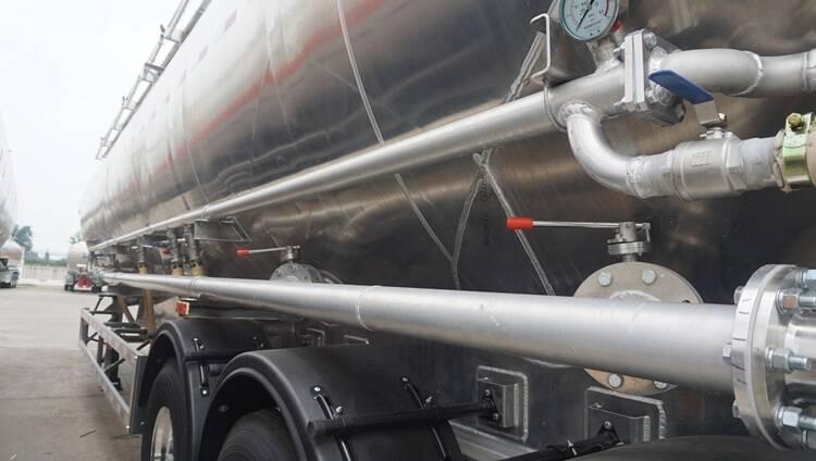 Trailer Tanker Tepung Terigu