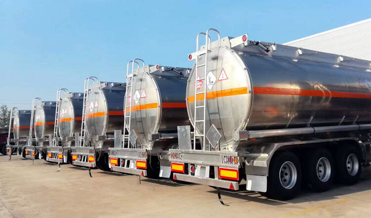 Cisterna de gas de aleación de aluminio para la venta
