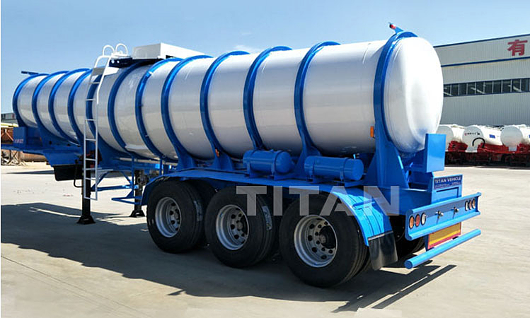 3 Axle Chemical Tanker Trailer