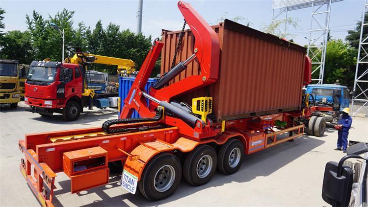 Fabricante de remolques de elevación lateral de contenedores de 40 pies